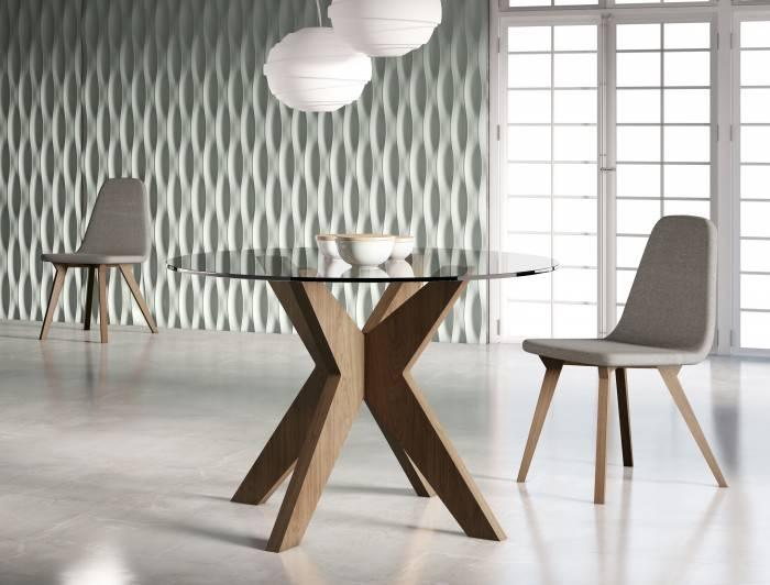 La verdad sobre las mesas redondas for Mesa redonda cristal 8 personas