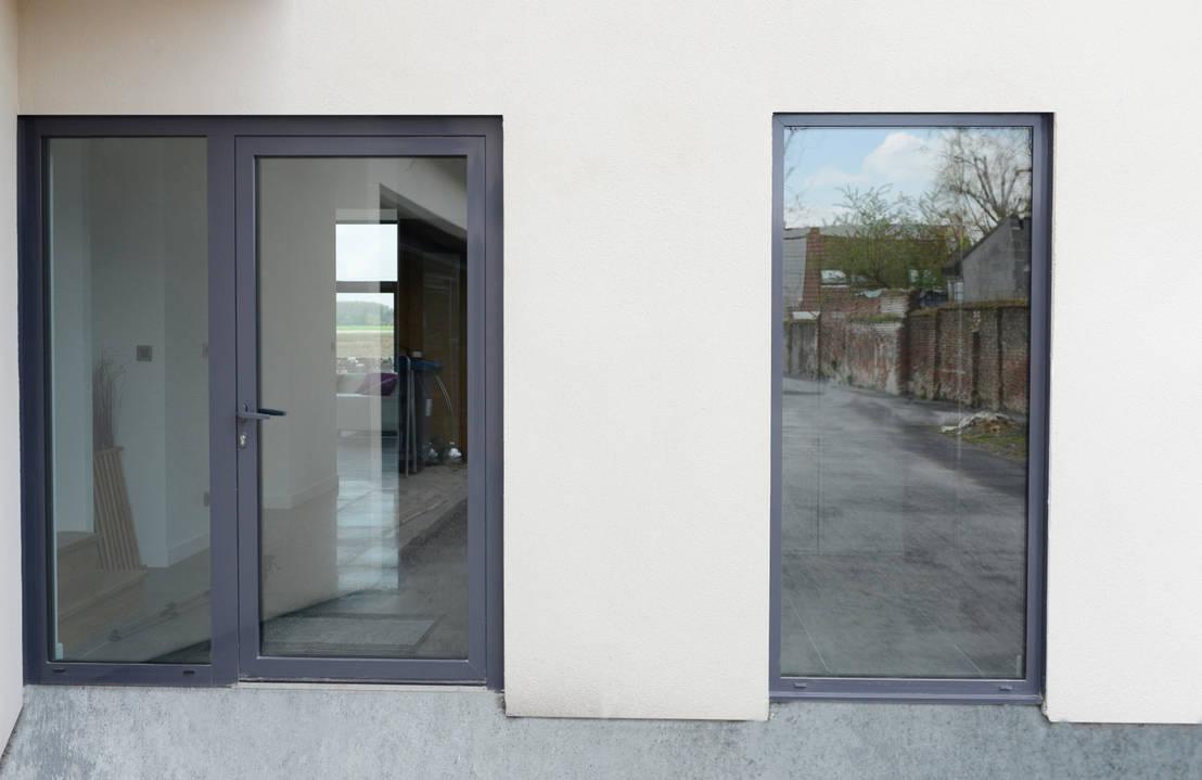 maison enti rement quip e de vitrage chauffant de vitrum glass homify. Black Bedroom Furniture Sets. Home Design Ideas