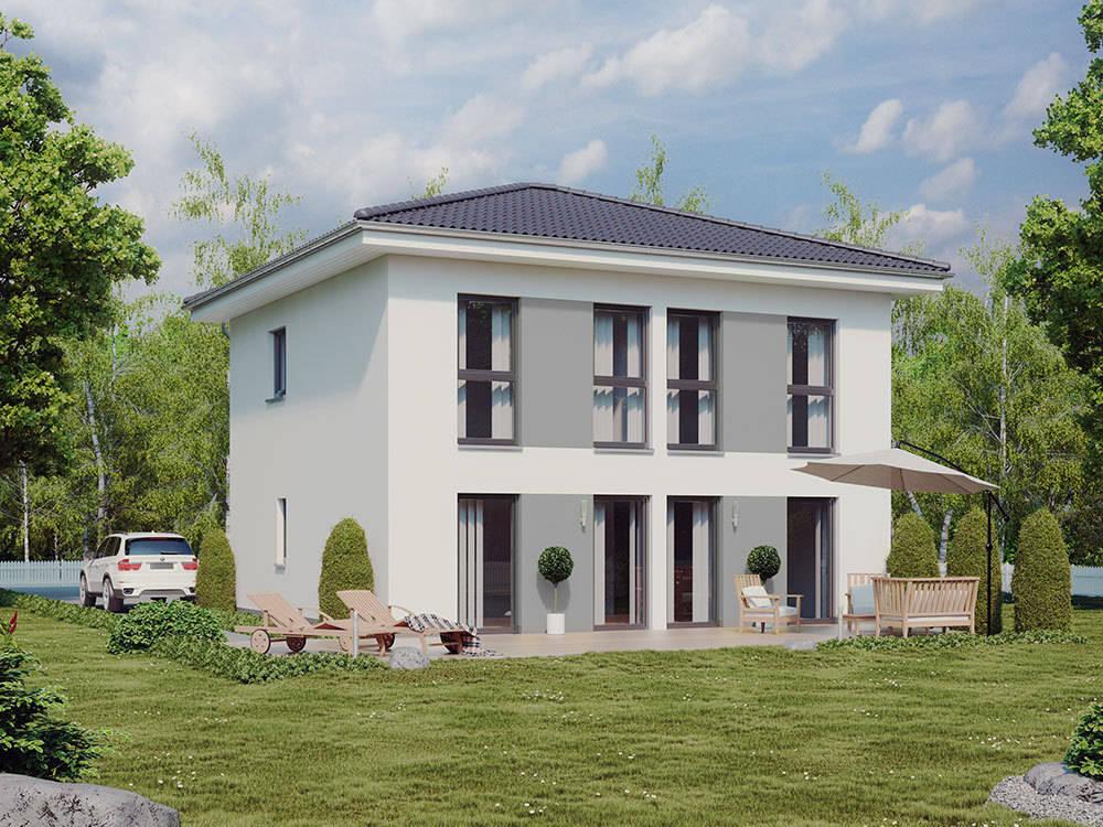 stadtvillaserie city von bau mein haus eine marke der green building deutschland gmbh homify. Black Bedroom Furniture Sets. Home Design Ideas