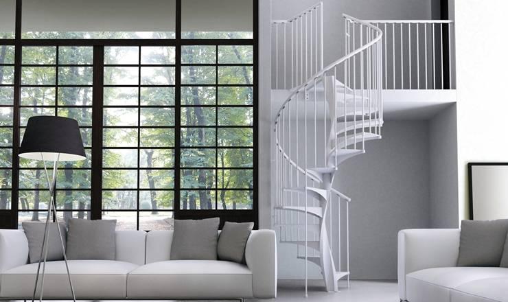 Una scala a chiocciola per ogni stile e ogni casa for Casa scala a chiocciola
