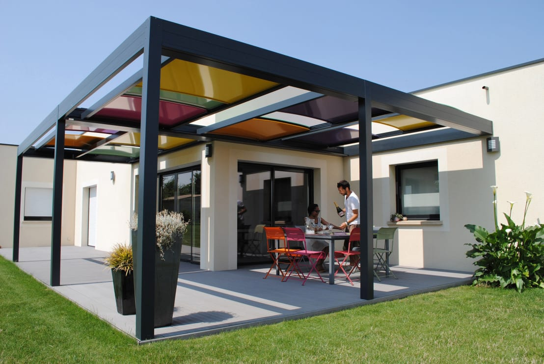 Home improvement build your own pergola in 8 steps for Steps to building your own home