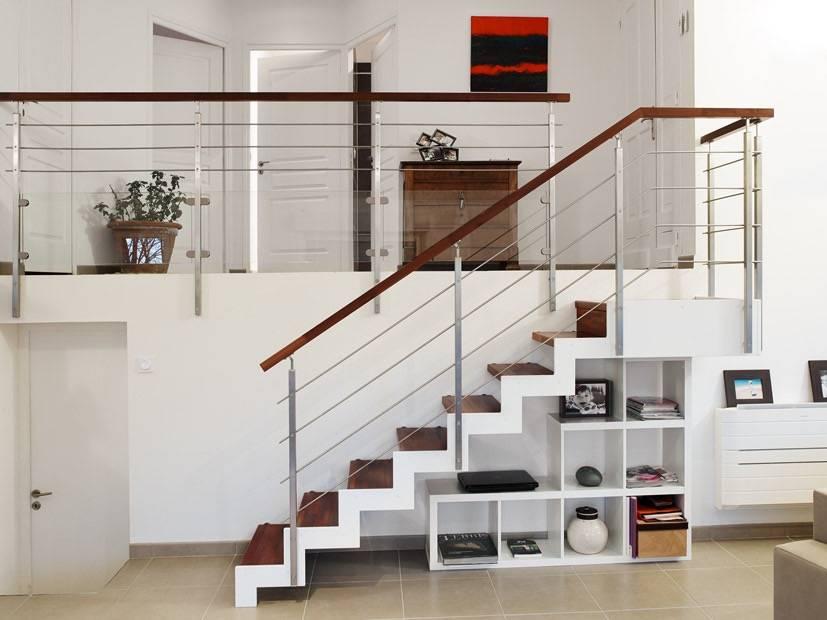 escalier bois et m tal by passion bois homify. Black Bedroom Furniture Sets. Home Design Ideas