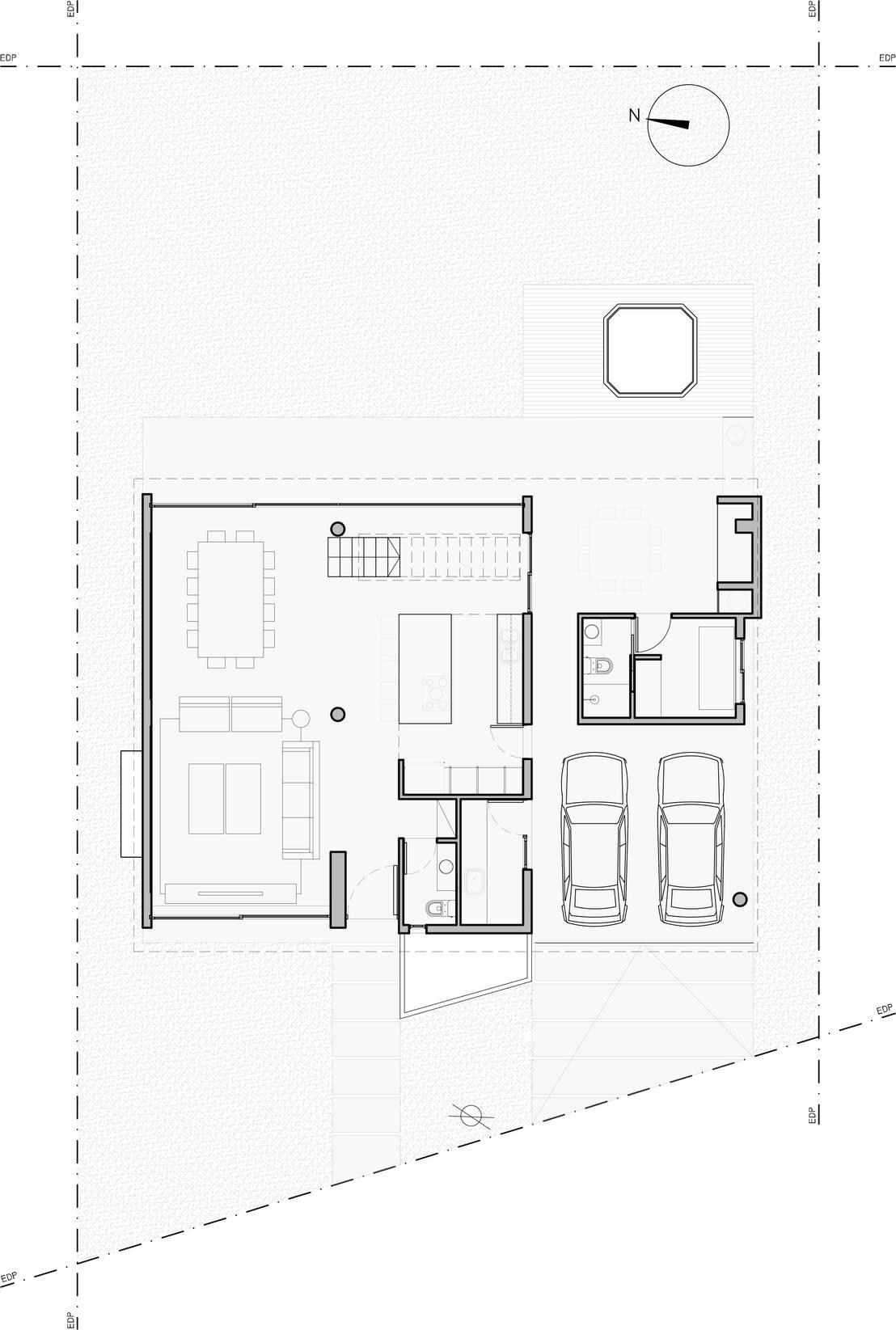 5 casas modernas con los planos para que saques ideas - Casas planta baja ...