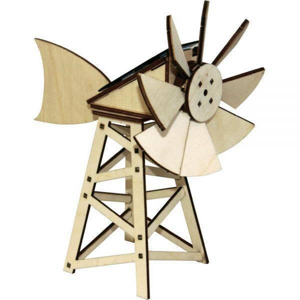maquette en bois olienne solaire am ricaine by jardin. Black Bedroom Furniture Sets. Home Design Ideas