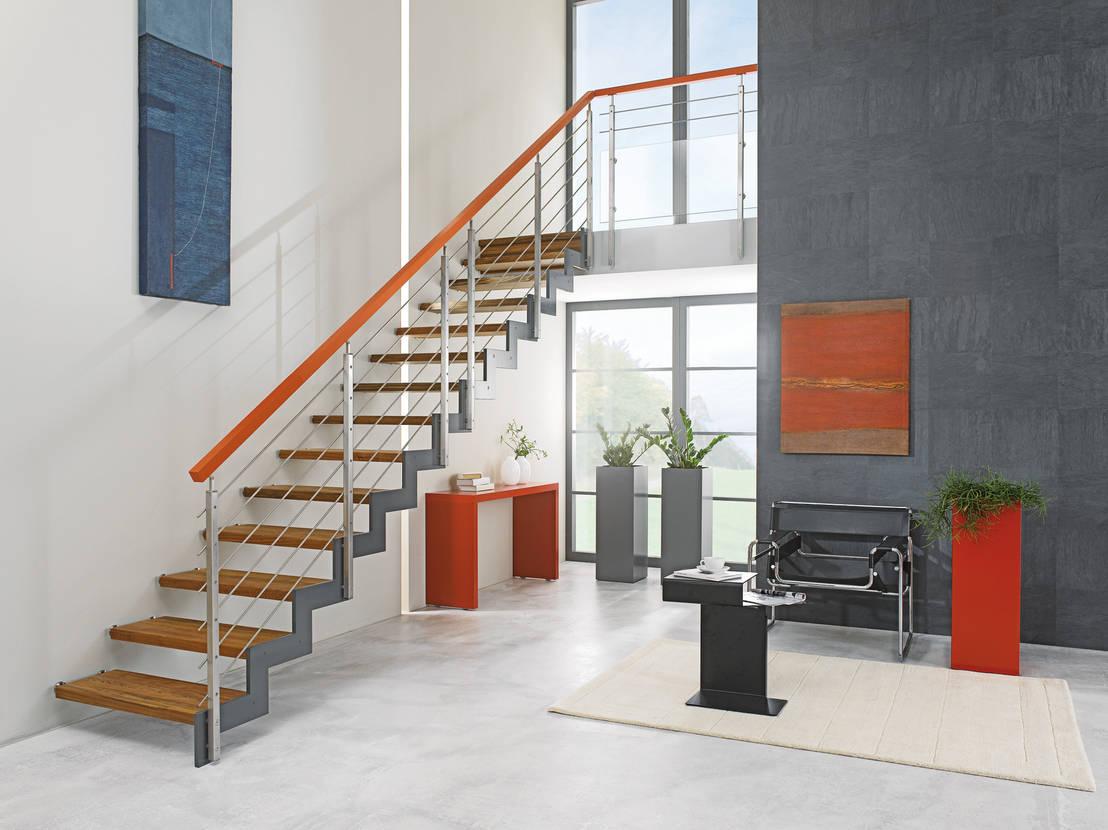 Stahlwangenstreppe Ferro Von B Nning Treppenbau Gmbh Homify
