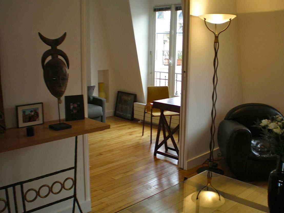 philippe demougeot appartement de 60m2 18 me homify. Black Bedroom Furniture Sets. Home Design Ideas