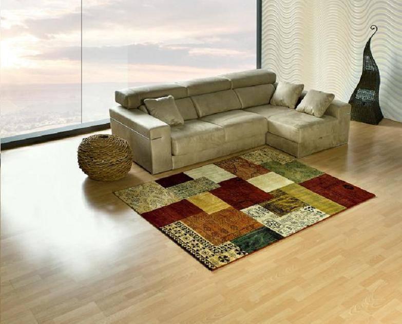 Alfombra patchwork by alfombras toledo homify - Alfombras patchwork vintage ...