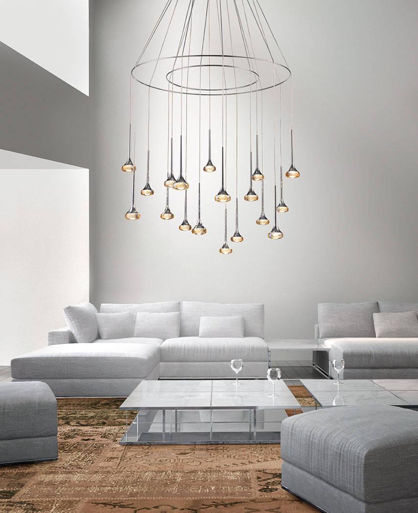 Come scegliere l 39 illuminazione per la casa le lampade a sospensione - Illuminazione per la casa ...