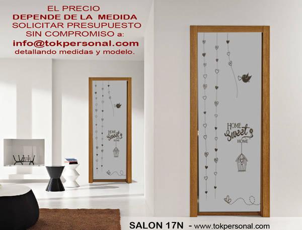 Vinilos decorativos para cristales sal n 17n de vinilos decorativos tokpersonal homify - Cristales para puertas de salon ...