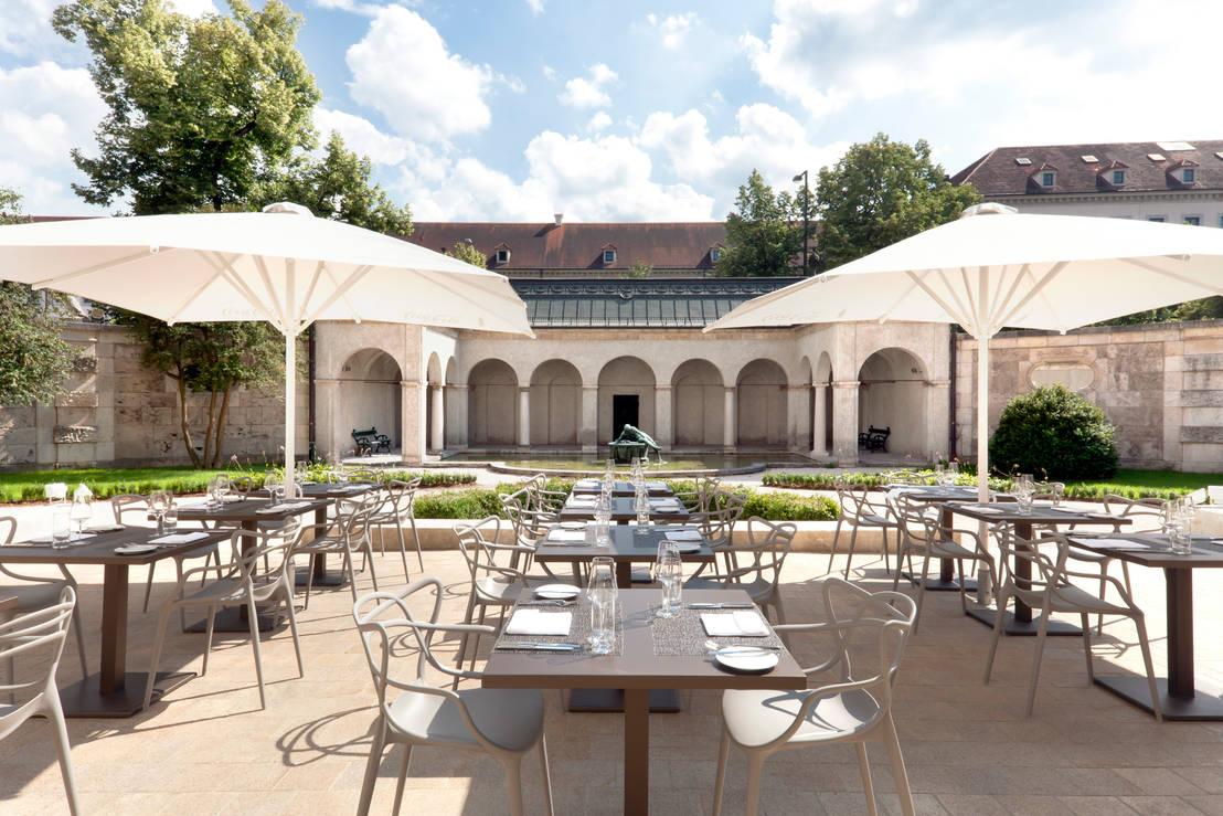 restaurant bayerisches nationalmuseum di br ckner architekten gmbh homify. Black Bedroom Furniture Sets. Home Design Ideas