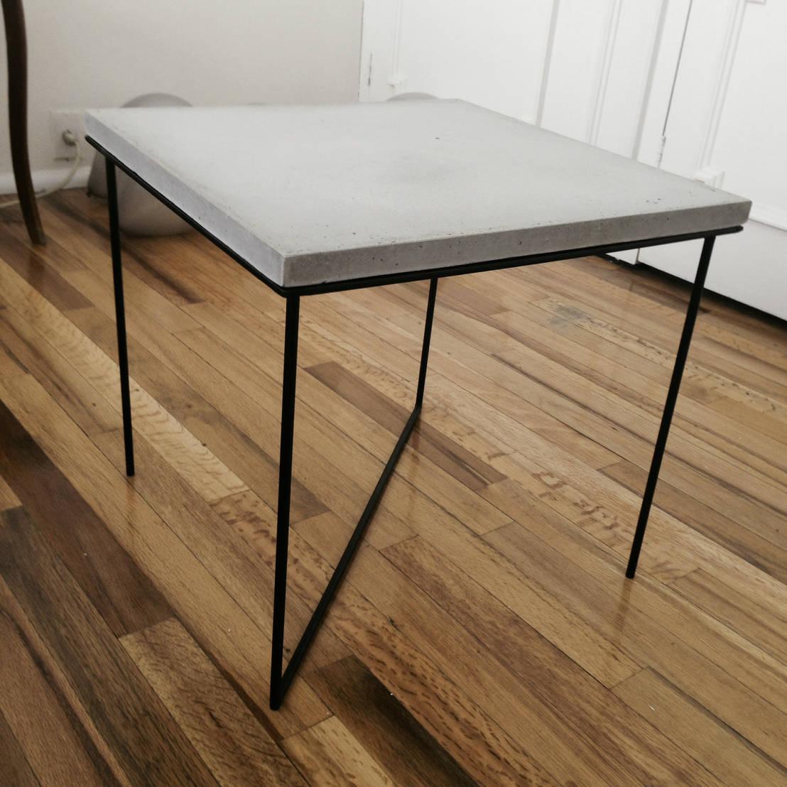 Mesa carlota de mdc muebles de concreto homify - Muebles serafin la carlota ...