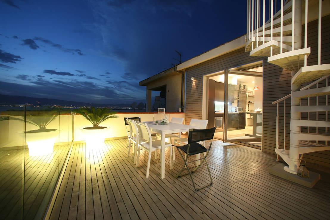Terrazzi in legno for Arredamento per terrazzi