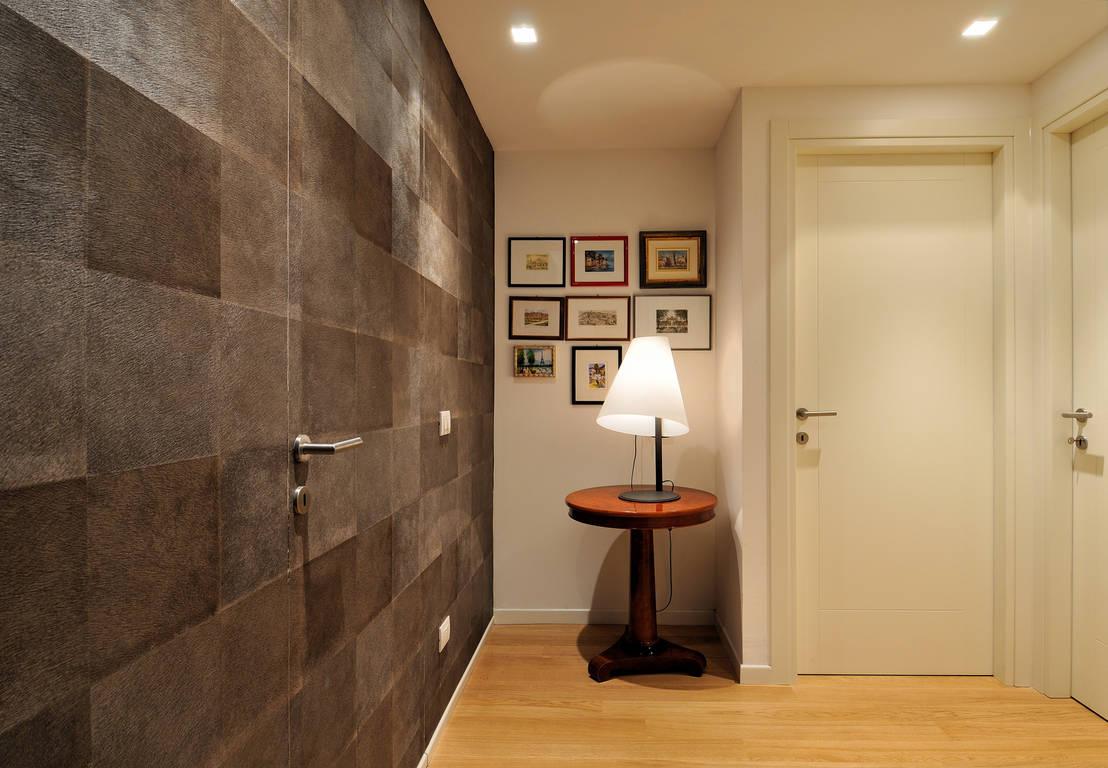 Una casa moderna attico l s - Illuminazione ingresso casa ...