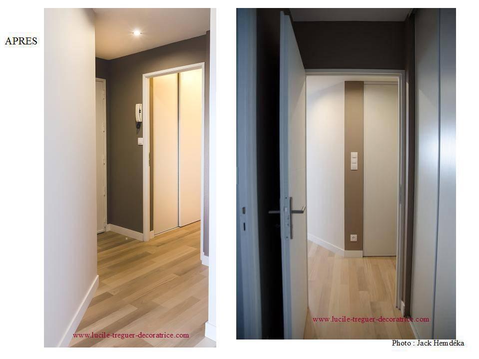 restructuration et d coration d 39 un appartement quimper por lucile tr guer d coratrice d. Black Bedroom Furniture Sets. Home Design Ideas