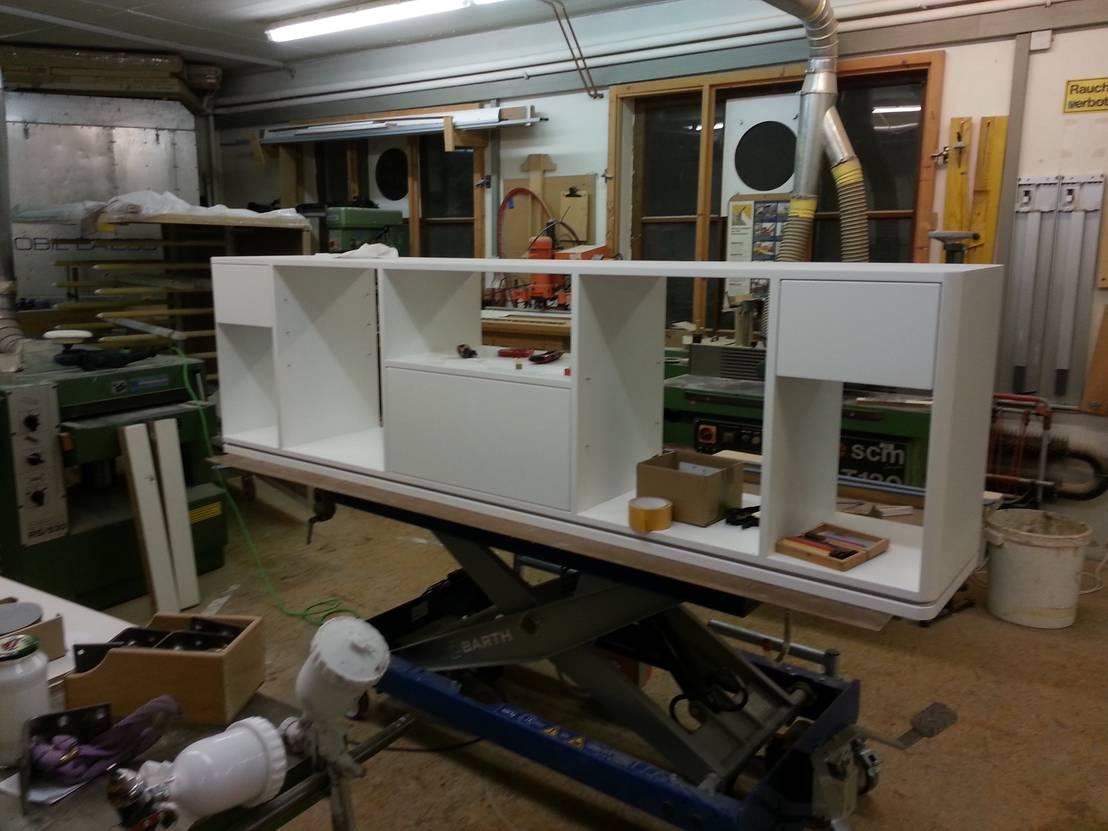btb bremer tischler betrieb hi fi regal homify. Black Bedroom Furniture Sets. Home Design Ideas