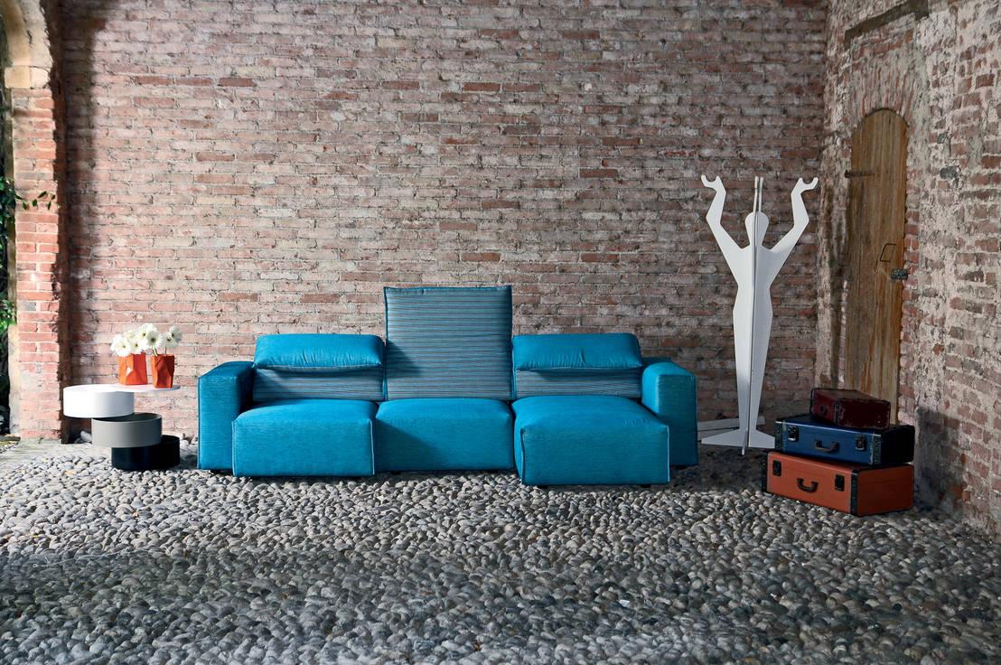 Genio divano con sedute scorrevoli e meccanismi schiena - Divano seduta scorrevole offerte ...