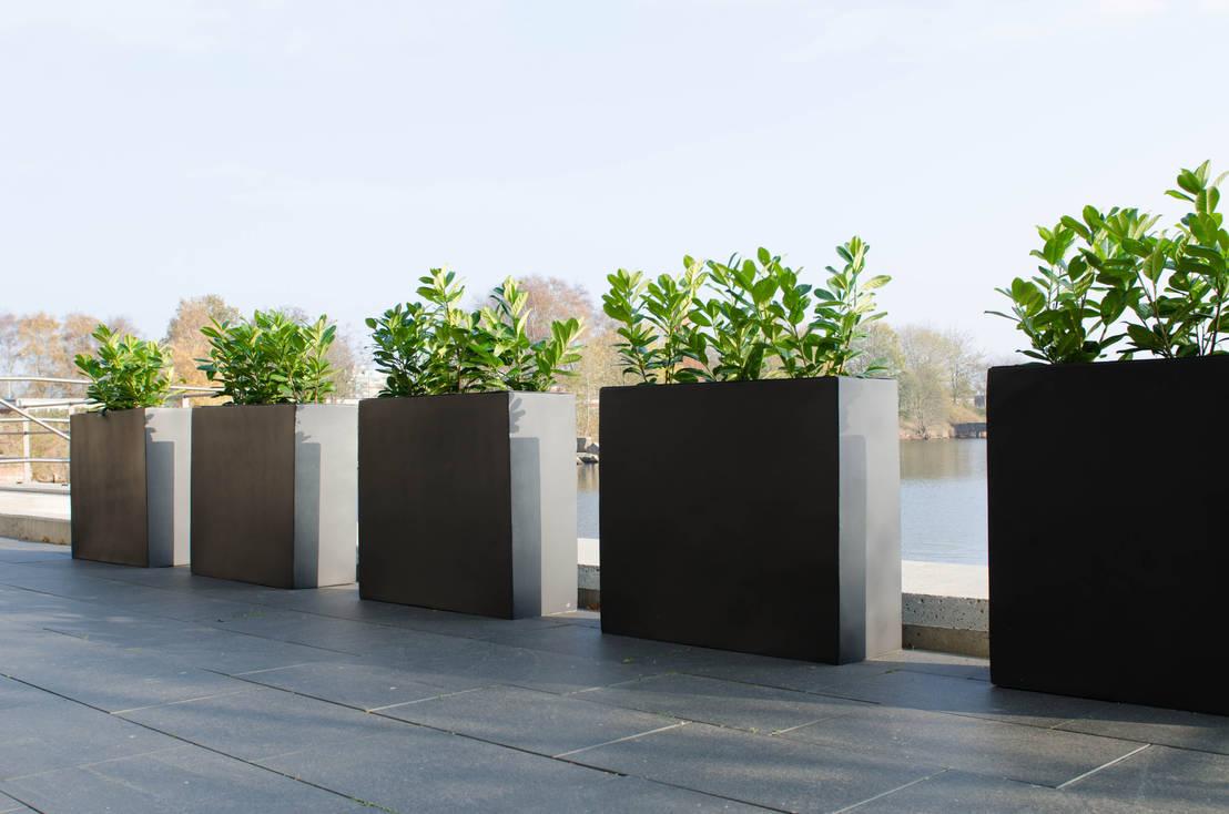 pflanzk bel fiberglas in anthrazit von ae trade online. Black Bedroom Furniture Sets. Home Design Ideas