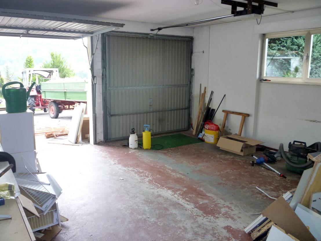 3 old garages get a new lease of life. Black Bedroom Furniture Sets. Home Design Ideas