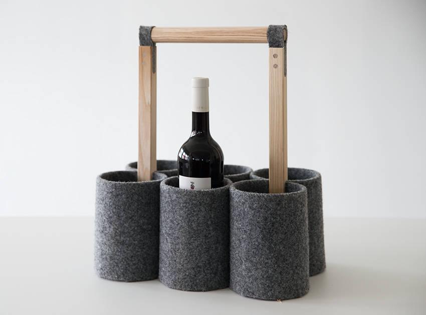 flaschenkorb by pozsgai homify. Black Bedroom Furniture Sets. Home Design Ideas