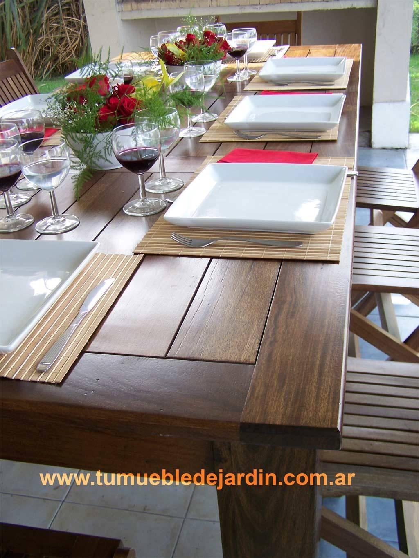 Mesas de tu mueble de jardin homify for Alcampo muebles dormitorio