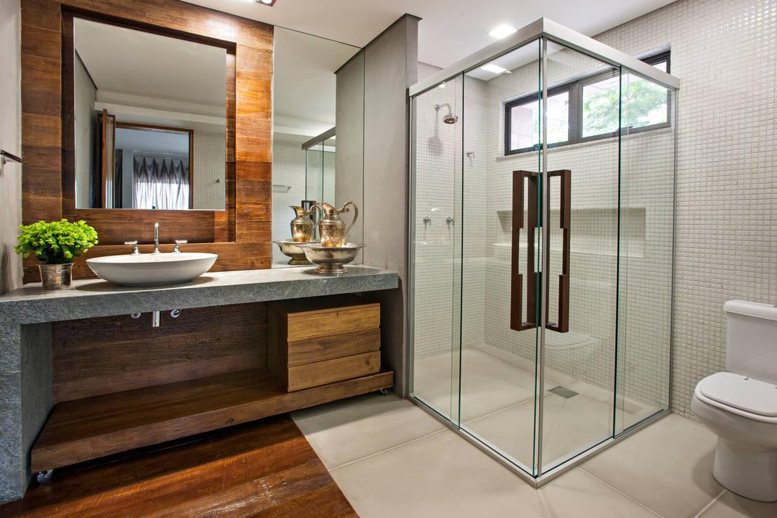 Casas de banho com chuveiros de sonho - Casas estilo rustico moderno ...