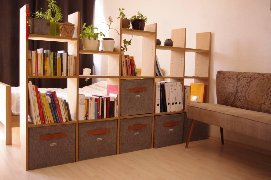 regalk rbe aus filz von stich haltig homify. Black Bedroom Furniture Sets. Home Design Ideas