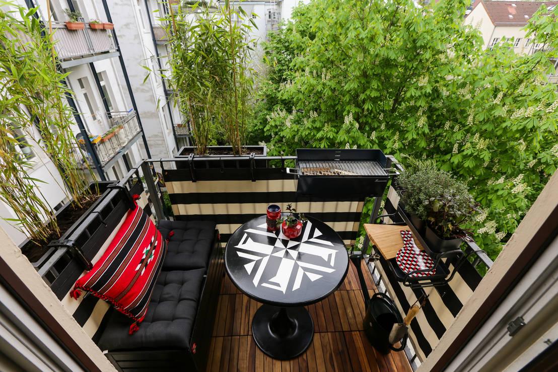 Vorher & nachher: balkon und terrasse optimal gestalten