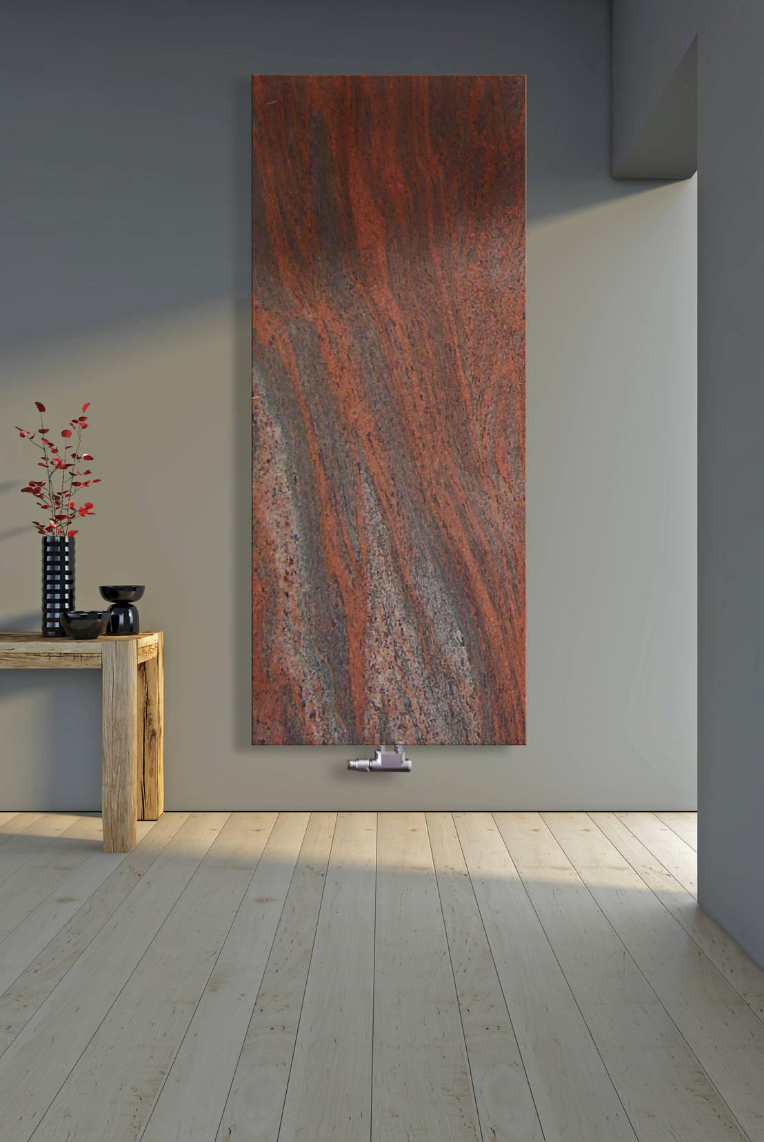 designheizk rper aus granit twilight red von tibutherm. Black Bedroom Furniture Sets. Home Design Ideas