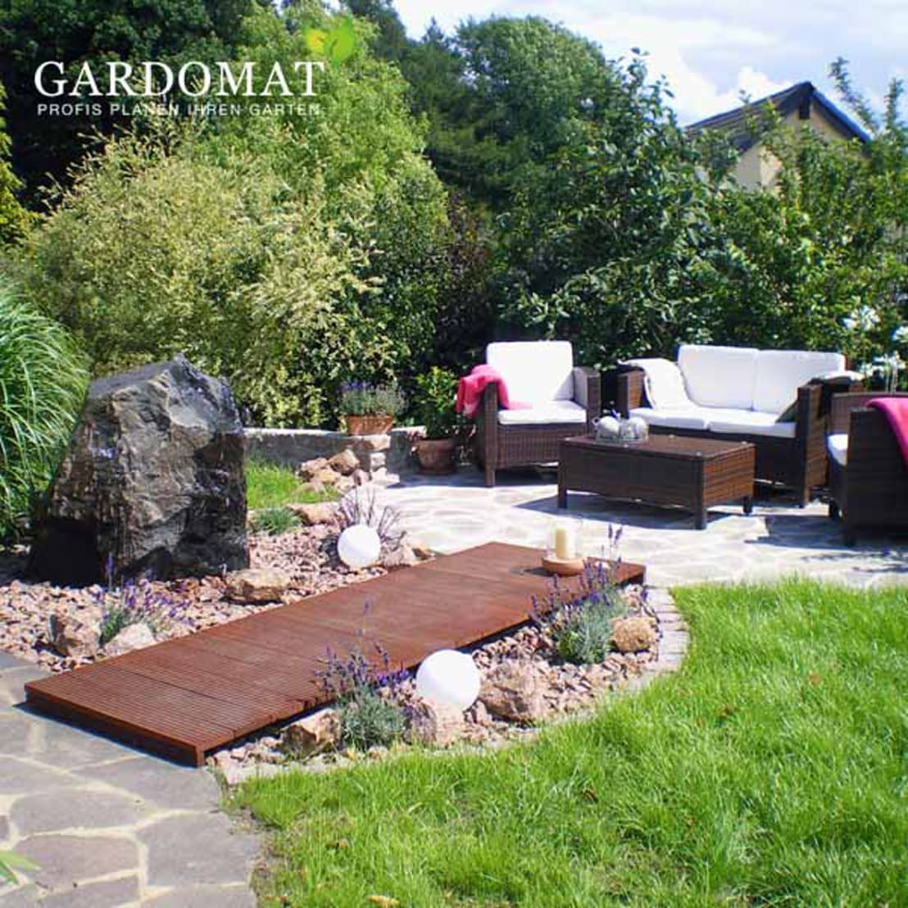mediterraner Garten von GARDOMAT Die Gartenideenmacher