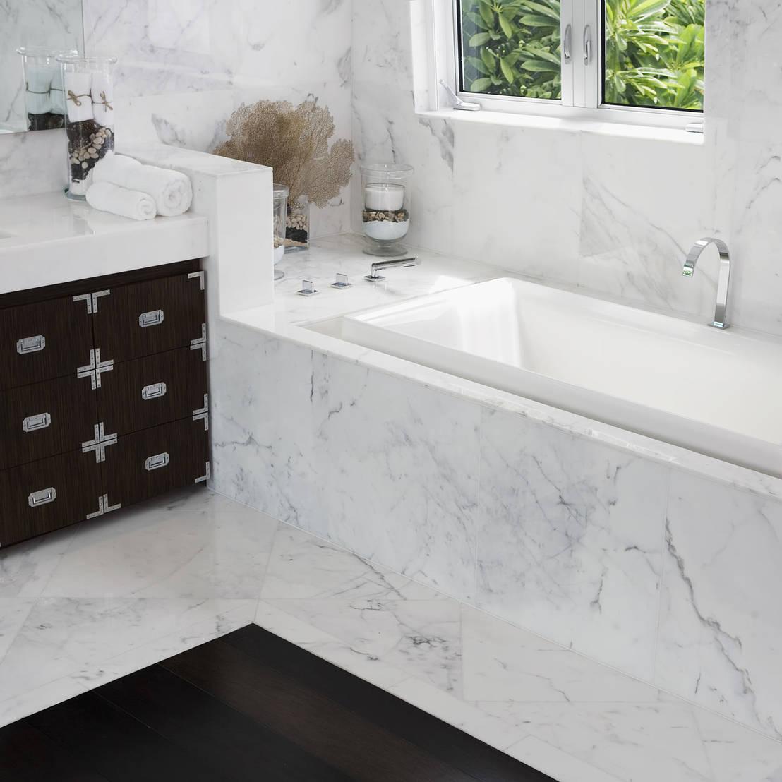 I rivestimenti in pietra naturale per il bagno il marmo - Rivestimenti per il bagno ...