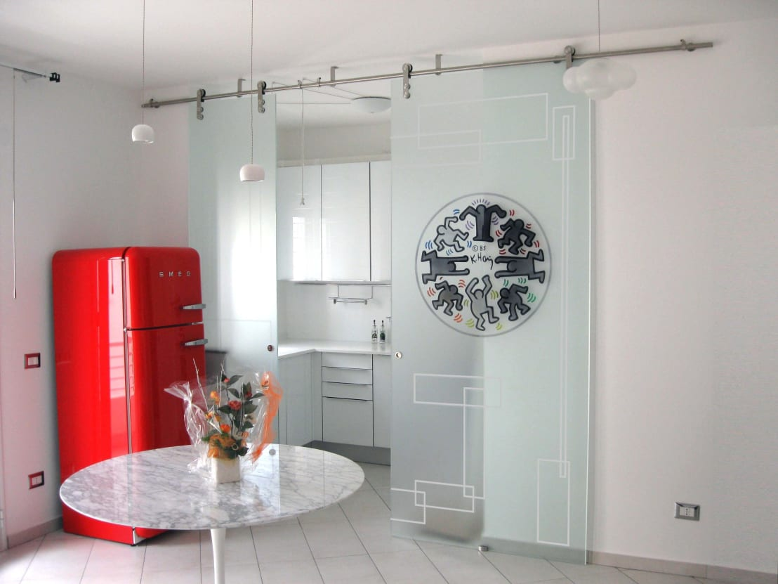 10 idee imperdibili per porte scorrevoli esterno muro - Porte scorrevoli per cucina ...