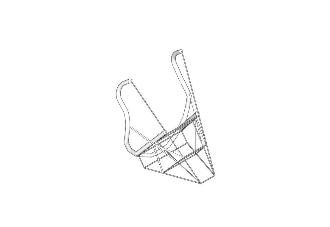 zaisu chaise sans pied por david lambert homify. Black Bedroom Furniture Sets. Home Design Ideas