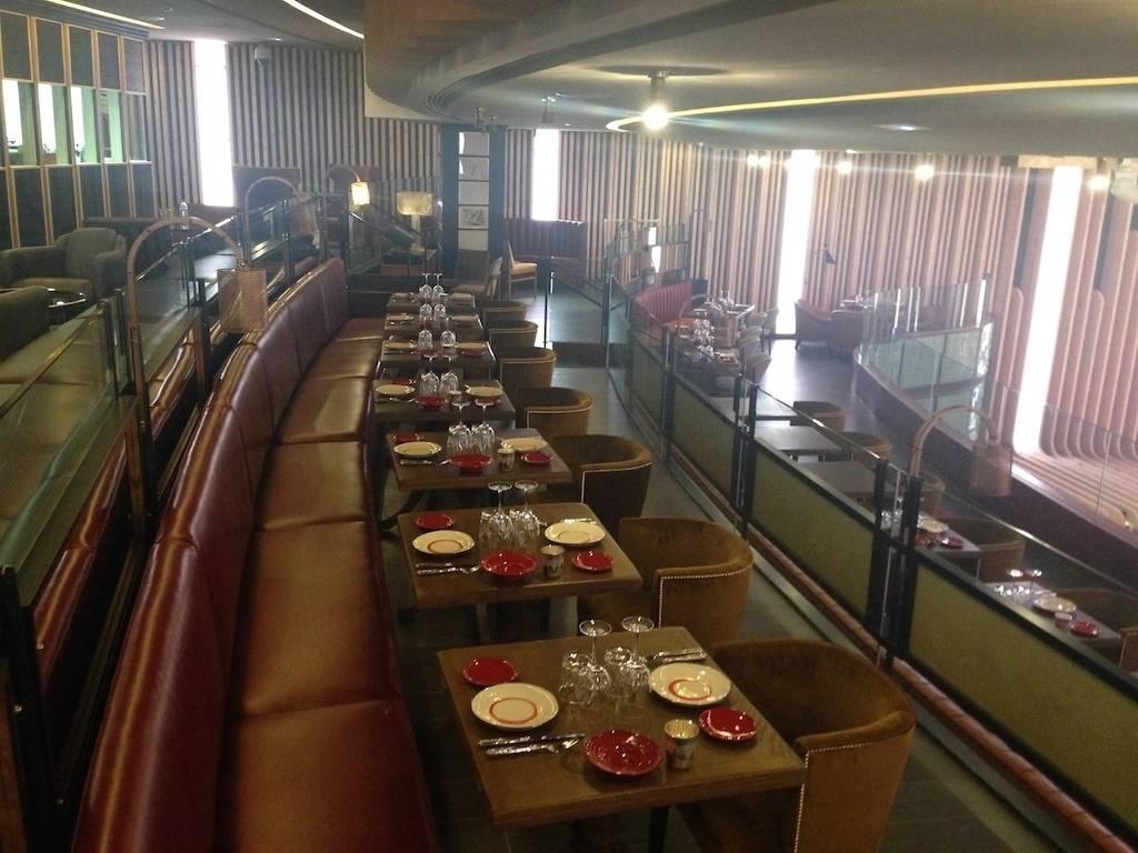 Plate madrid restaurante ramon freixa de estepa proyectos for Estudios de interiorismo madrid