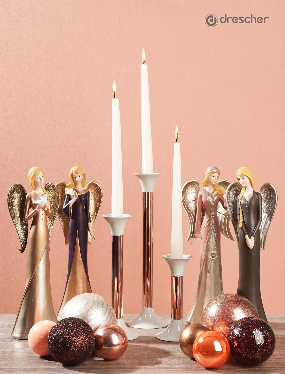 Kupfer elegante akzente zum weihnachtsfest von drescher - Gartendekoration kupfer ...