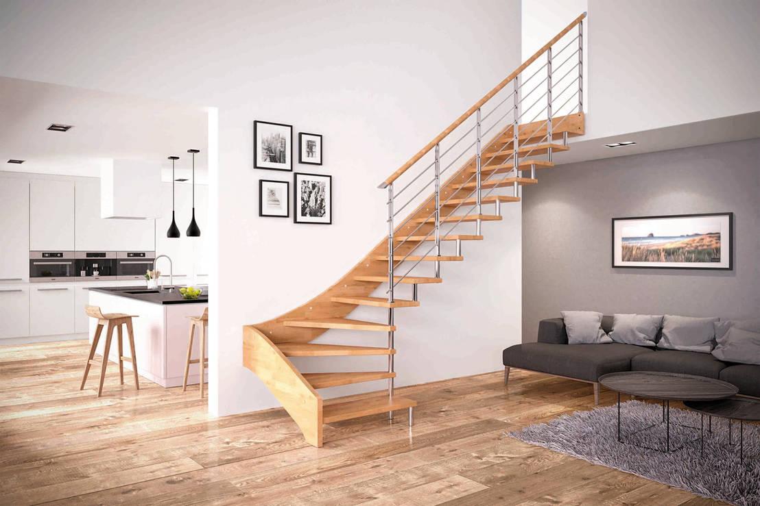 10 tipi di scale da interni!