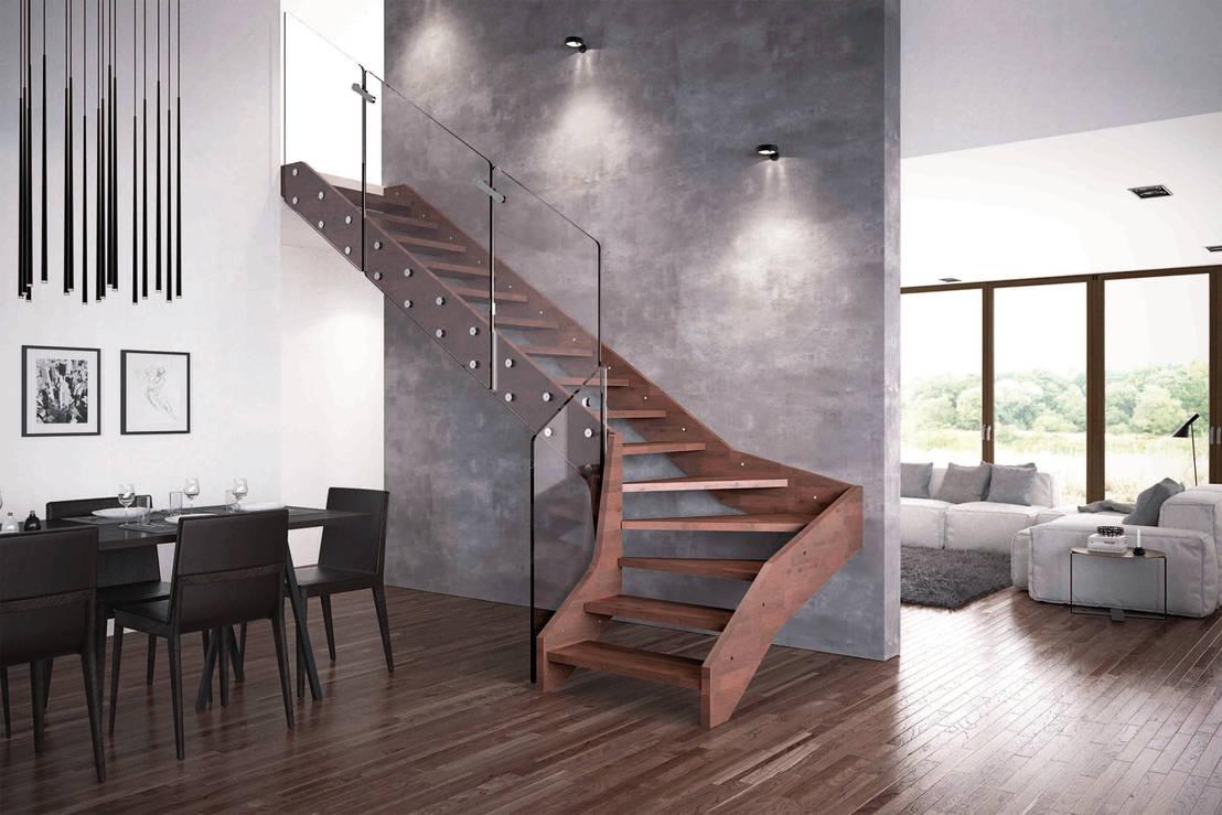 Scale interne in legno firmate rintal di rintal homify - Idee scale per interni ...