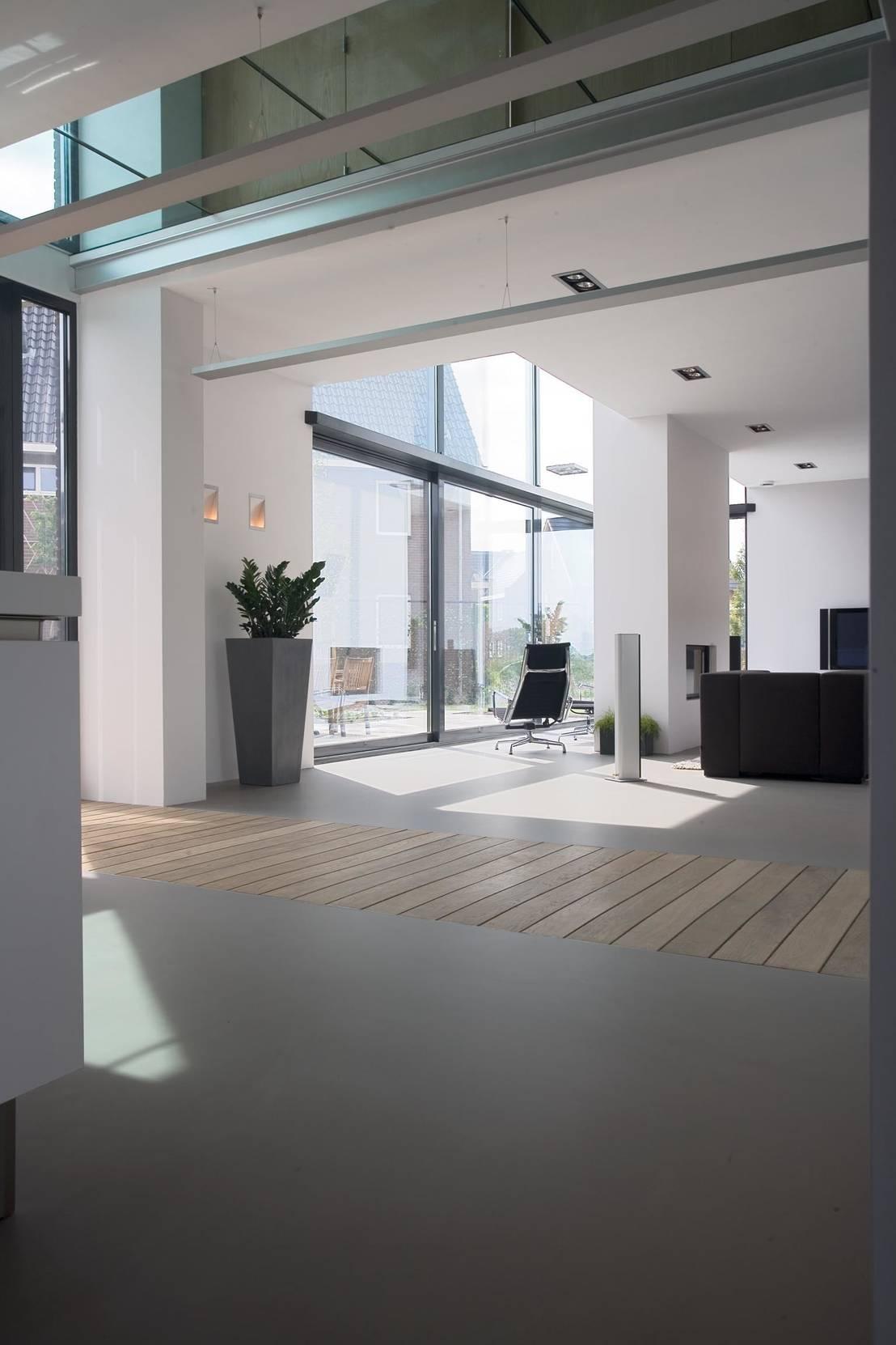 Nieuwbouwontwerp exterieur interieur door bart van wijk for Exterieur interieur