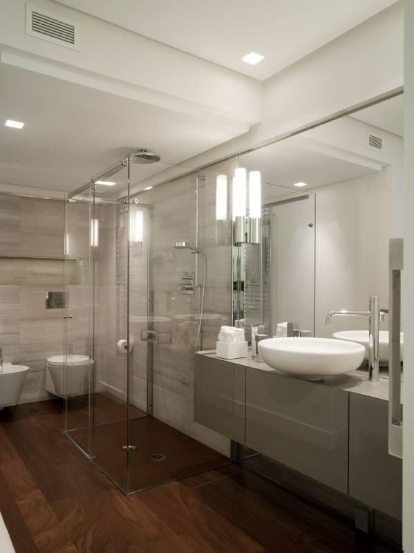 box doccia con porta scorrevole von gal srl homify. Black Bedroom Furniture Sets. Home Design Ideas