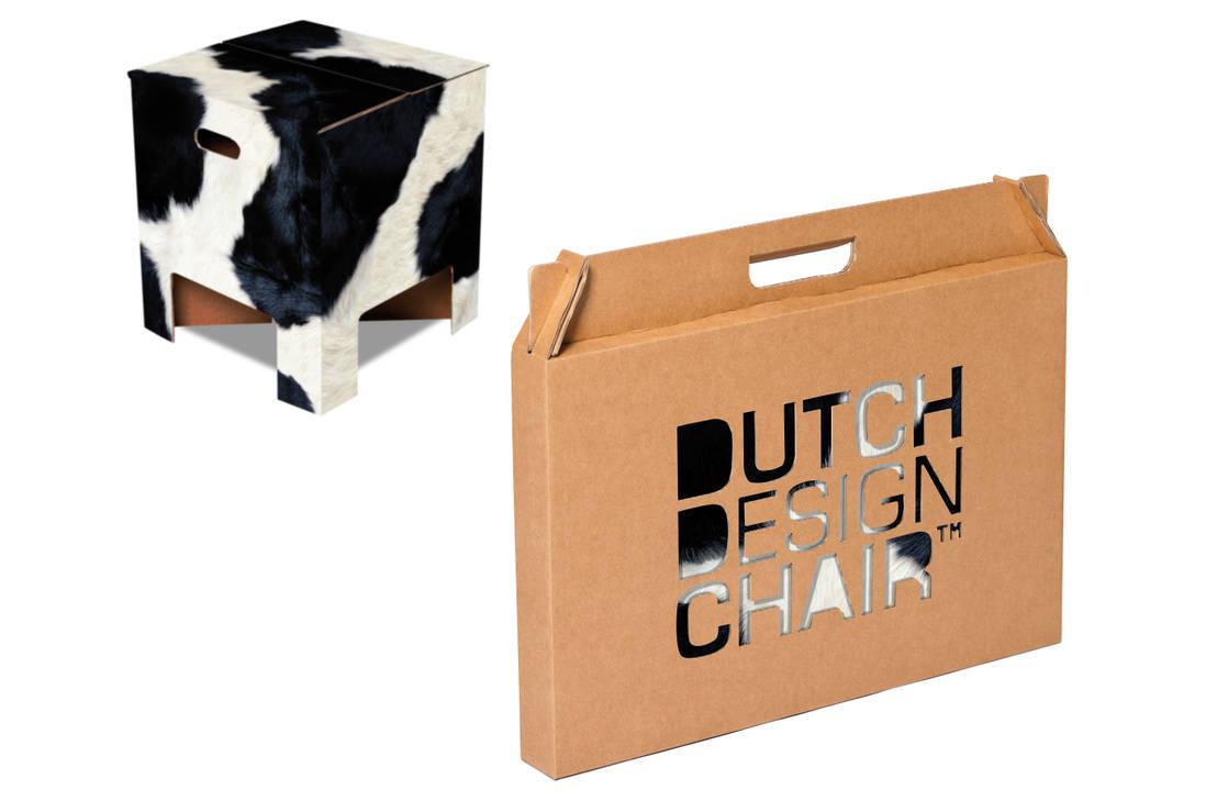 Cow dutch design chair by dutch design homify for Dutch design chair karton