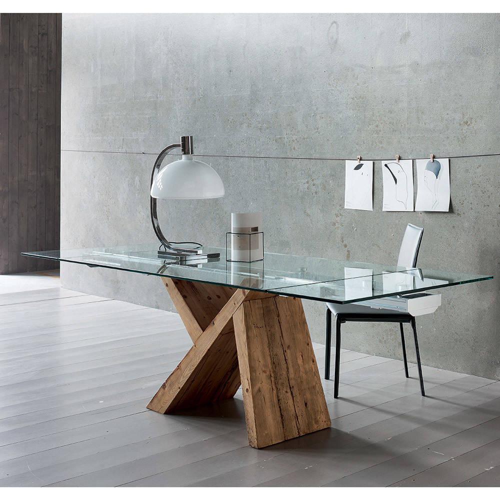 10 idee per abbinare il tavolo in vetro allungabile - Mobili in cristallo ...