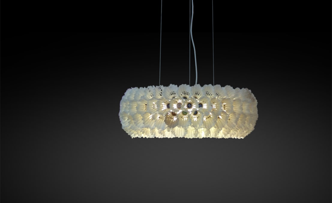 Upcycling lampen de gabarage upcycling design homify for Lampen papier