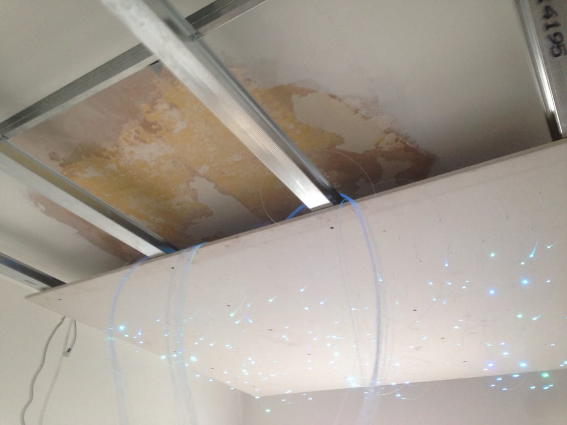 Ceiling Lights Blackpool : Small starlight ceiling for nursery by lancashire design