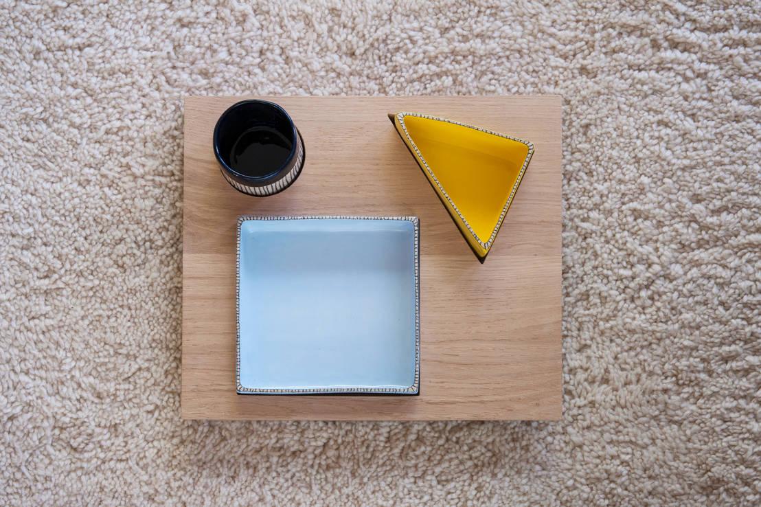 sabine orlandini design c ramique plateau solo homify. Black Bedroom Furniture Sets. Home Design Ideas
