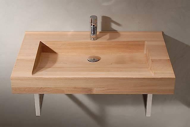 Collectie Houten Design Wasbakken Door Van Wijk Dutch