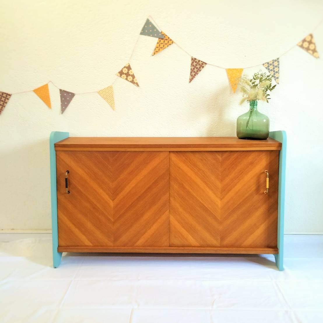 noelie le meuble de rangement vintage des 50 s por chouette fabrique homify. Black Bedroom Furniture Sets. Home Design Ideas