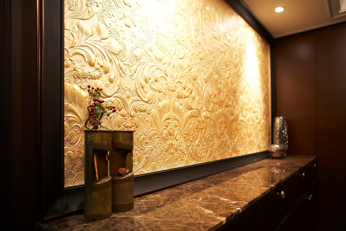 아름다운 벽. 아트월 아이디어