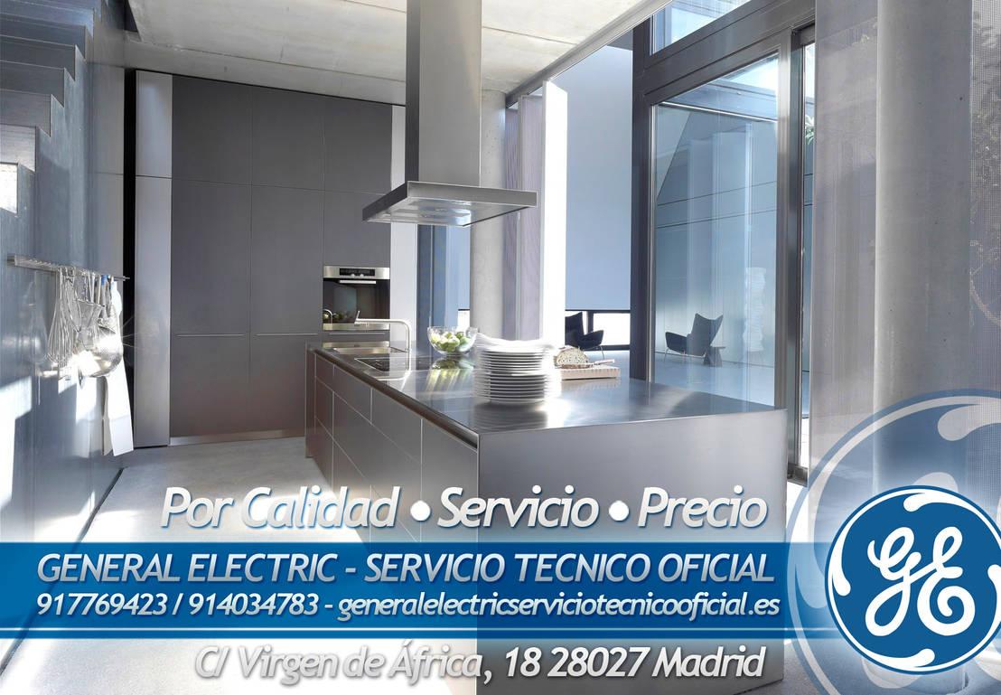 Servicio t cnico oficial general electric by general for Servicio tecnico grohe madrid