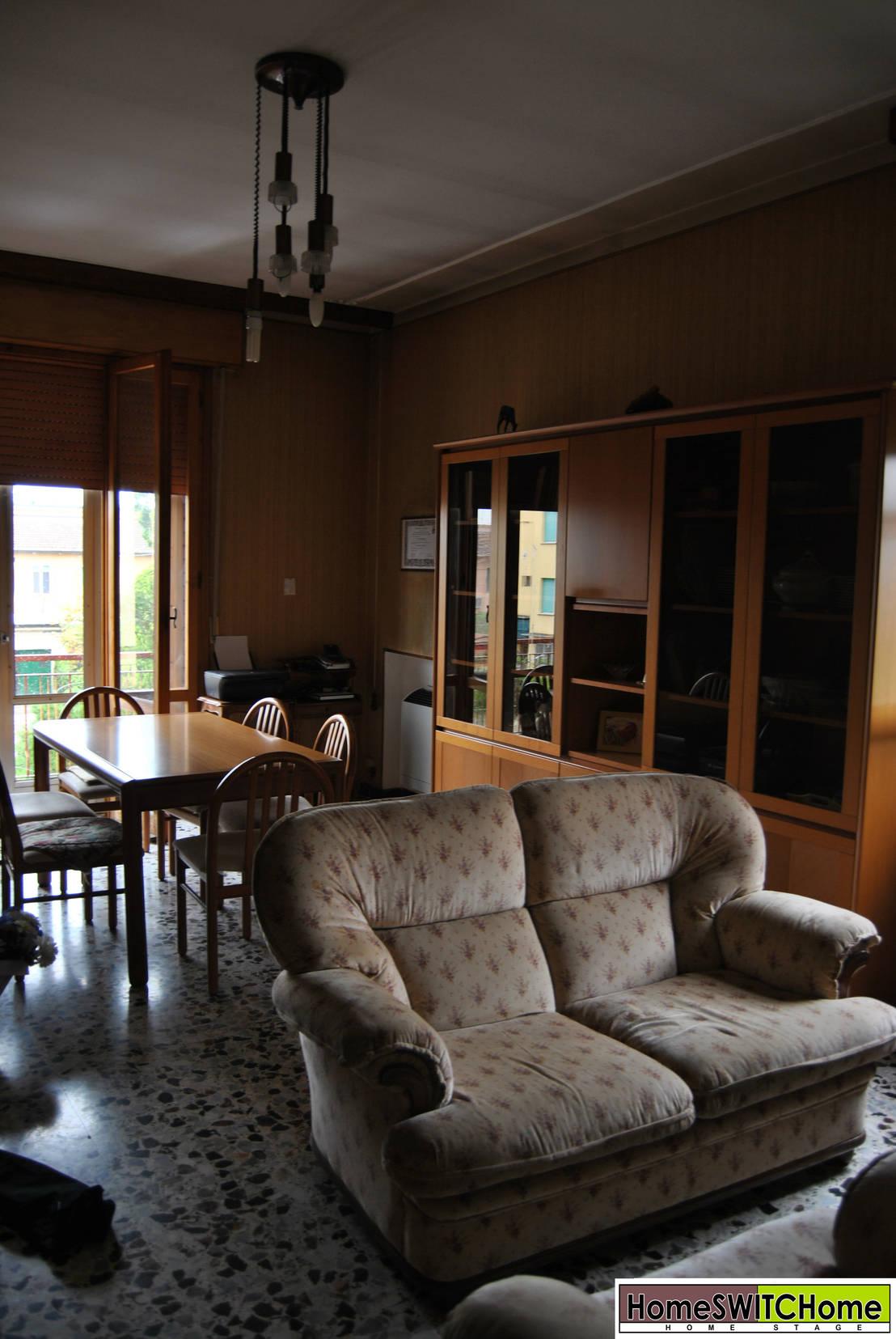 Home staging appartamento in affitto reggio emilia di for Affitto appartamento arredato reggio emilia