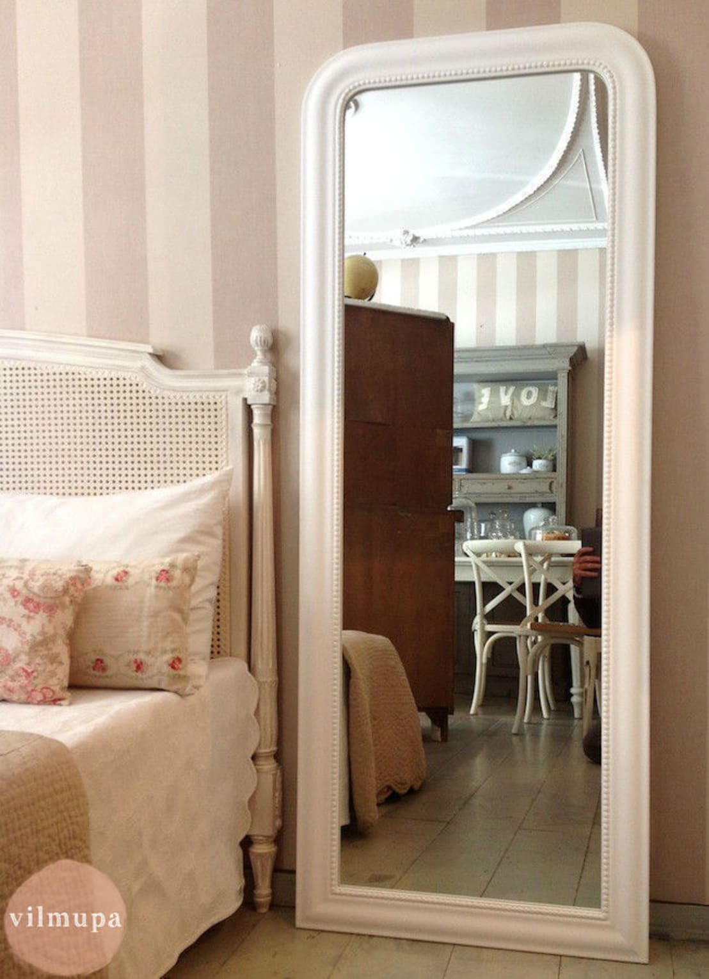 Espejo vestidor de madera blanco de vilmupa homify for Espejos de vestidor