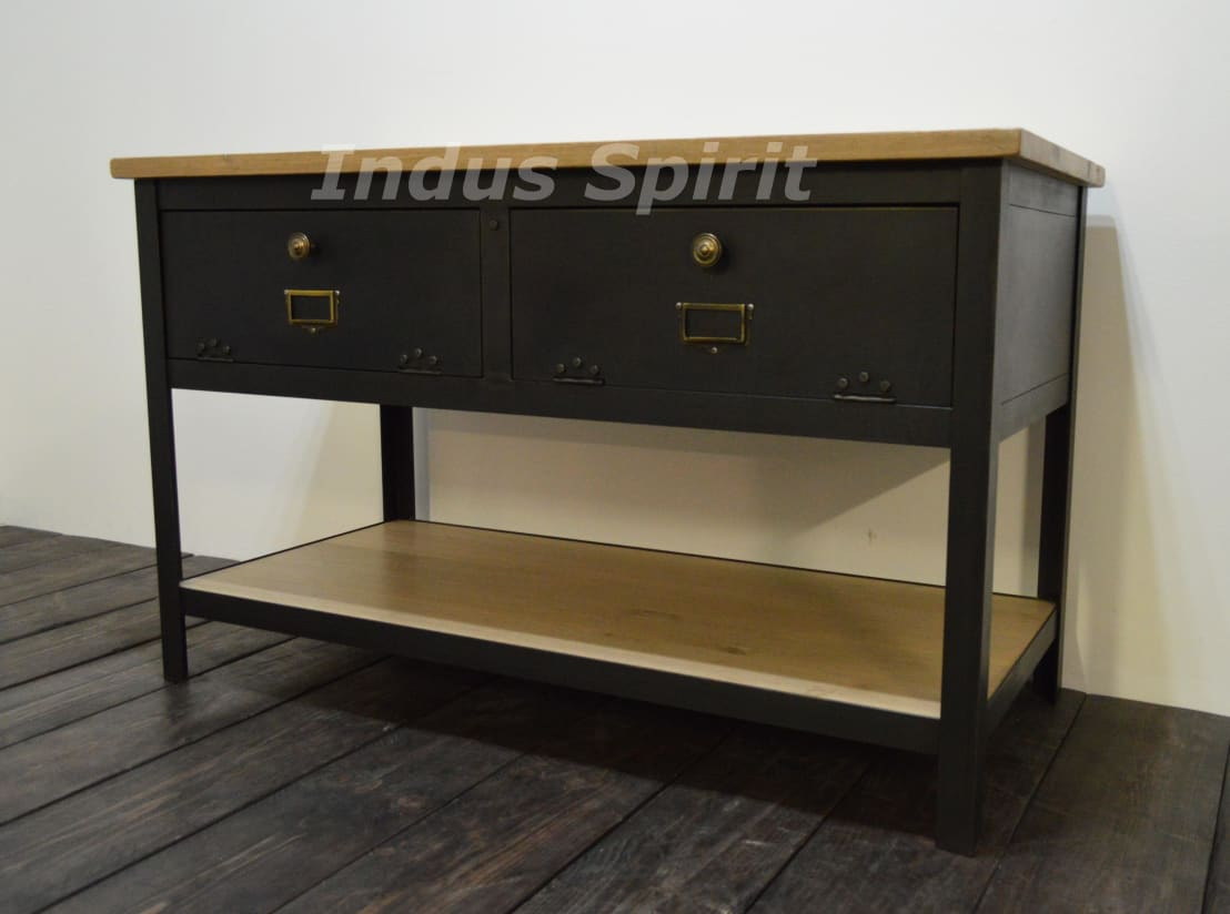 meuble de salle de bain industriel sur mesure par indus spirit homify. Black Bedroom Furniture Sets. Home Design Ideas